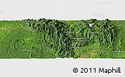 Satellite Panoramic Map of Hpawngtut Gahtawng