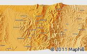 Political 3D Map of Hkritu