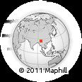 Outline Map of Hkritu, rectangular outline