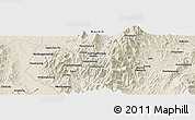 Shaded Relief Panoramic Map of Hkindukawng