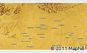 Physical 3D Map of Sutelong