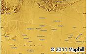 Physical Map of Sutelong