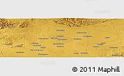 Physical Panoramic Map of Sutelong