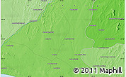 Political Map of Beloha