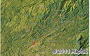 Satellite Map of Taquari
