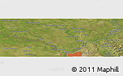 "Satellite Panoramic Map of the area around 25° 2' 21"" S, 57° 43' 30"" W"