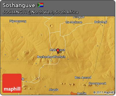 Free Physical Map of Soshanguve