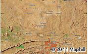 "Satellite Map of the area around 25°31'56""S,28°7'30""E"