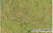 "Satellite Map of the area around 25°31'56""S,56°52'30""W"