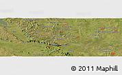 "Satellite Panoramic Map of the area around 25°31'56""S,56°52'30""W"