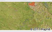 Satellite 3D Map of Puerto Pilcomayo