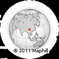 Outline Map of Liude, rectangular outline