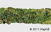 Satellite Panoramic Map of Liude