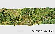 Satellite Panoramic Map of Panzhihua