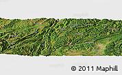 Satellite Panoramic Map of Laibin