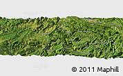 Satellite Panoramic Map of Guanying