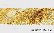 """Physical Panoramic Map of the area around 26°21'4""""N,108°1'30""""E"""