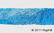 """Political Panoramic Map of the area around 26°21'4""""N,108°1'30""""E"""