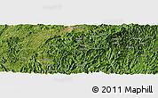 "Satellite Panoramic Map of the area around 26°21'4""N,108°1'30""E"