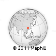 Outline Map of Macao, rectangular outline