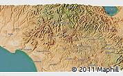 Satellite 3D Map of Cadege