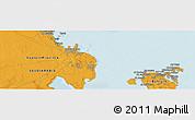 Political Panoramic Map of Sitrah
