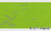"""Physical 3D Map of the area around 26°21'4""""N,68°55'30""""E"""