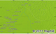 """Physical Map of the area around 26°21'4""""N,68°55'30""""E"""
