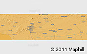 Political Panoramic Map of Jodhpur