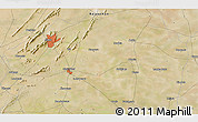 Satellite 3D Map of Ajmer