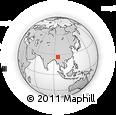 Outline Map of Ningru Ga, rectangular outline