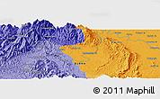 Political Panoramic Map of Hakon