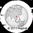 Outline Map of Mabai, rectangular outline