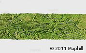 Satellite Panoramic Map of Mabai