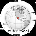 Outline Map of Choix, rectangular outline