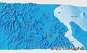 Political 3D Map of Boca de Magdalena