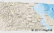 Shaded Relief 3D Map of Boca de Magdalena
