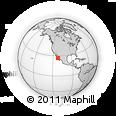 Outline Map of Boca De Magdalena, rectangular outline