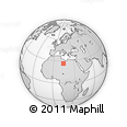 Outline Map of Sabhā, rectangular outline