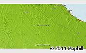 Physical 3D Map of Al Jubayl
