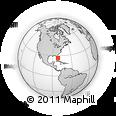 Outline Map of Fort Myers, rectangular outline