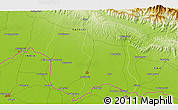 """Physical 3D Map of the area around 26°50'27""""N,85°55'30""""E"""
