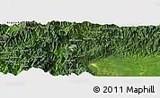 Satellite Panoramic Map of Gedu Ga
