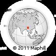 Outline Map of 'Ndup Tumsa, rectangular outline