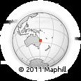 Outline Map of 6 Booker St, rectangular outline