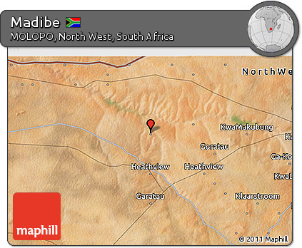 Free Satellite 3D Map of Madibe