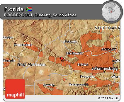 Free Satellite 3D Map of Florida
