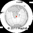Outline Map of Hawane Resort, rectangular outline
