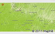 Physical 3D Map of Colonia Escalada