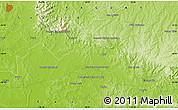 Physical Map of Colonia Escalada